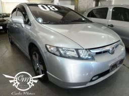 Civic LXS 1.8 Flex Aut. 2008