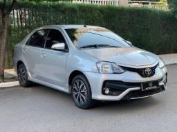 Etios Platinum 2018 Automático Extra Completo