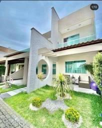 Linda casa em condomínio, 3 suítes, closet, perto da Fraga Maia.