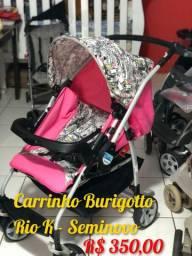 Carrinho de bebe Burigotto Bebe Crianca