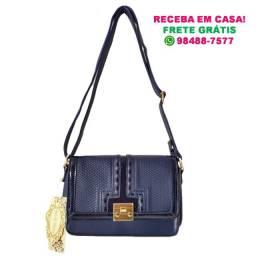 Bolsa Feminina Azul Escuro (Pequena) | Marca: Rio de Prata