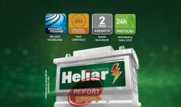 Bateria 60 Amp Heliar 24 Meses de garantia // O Melhor Preço de Cbá/VG