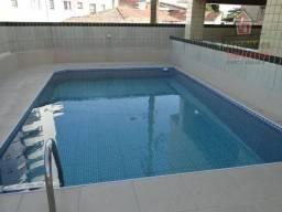 Apartamento mobiliado com 1 dormitório para alugar, 48 m² por r$ 1.200/mês - vila guilherm