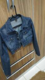 Jaqueta jeans tamanho M