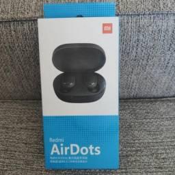 Fones sem fio AirDots Redmi da XIAOMI.. Novo lacrado com garantia e entrega imediata
