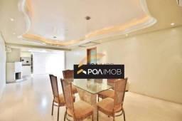 Apartamento com 3 dormitórios para alugar, 153 m² por R$ 3.500,00/mês - Vila Nova - Novo H
