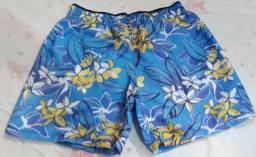 Shorts Mauricinho Tactel Moda Verão