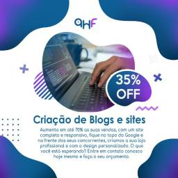 Criação de blogs e sites para produtores de conteúdo