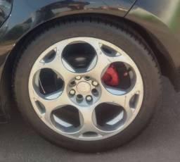 Troco jogo de roda Lamborghini 17 pneus novos por outra 16/17 Citroen ou Peugeot