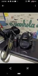 Câmera Nikon D3000 18-55mm + 50mm