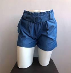 Shorts com cinto TAM M e G