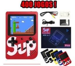 Game Sup retrô com 400 jogos