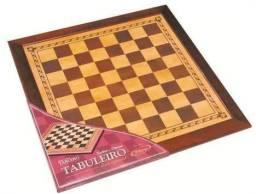 Tabuleiro de Xadrez e Dama - Série especial Xalingo