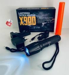 Lanterna Tática Militar X900 DuraweLL 800 Lumens