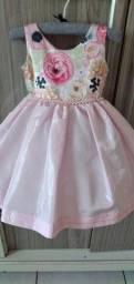 Vestido temático rosa