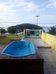 Casa de frente pro mar em Conceição de Jacareí rj