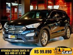 Hyundai Santa Fe/GLS 3.3 V6 4X4 Tiptronic 2014 Gasolina