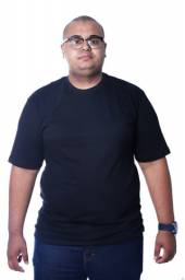 Camiseta Plus Size Vida Loca Básica G1,G2,G3 e G4