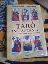 Livro: Tarô Instantâneo (Novo, com marcas)