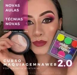 Título do anúncio: curso de maquiagem na web