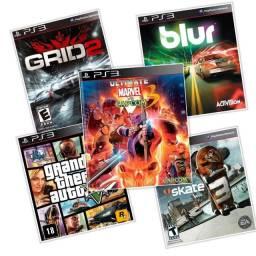 5 Jogos PS3 Barato