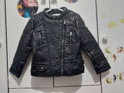 Título do anúncio: Jaqueta couro ecológico Zara 4/5 anos