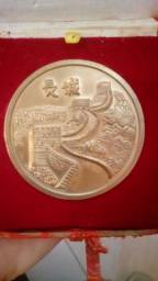Medalha Chinesa Rara