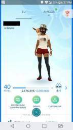 Conta Pokemon Go Level 40