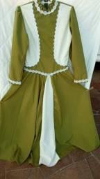 Vestido Prenda Gaúcha Tipico Tradicionalista Tamanho M