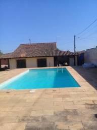 Alugo mini Sítio com piscina, campo p/ Temporada em Jaconé