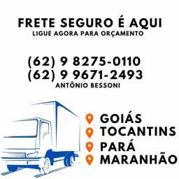 Título do anúncio: FRETE GOIÁS TOCANTINS PARÁ MARANHÃO