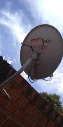Bike Poty e antena pra sky gato