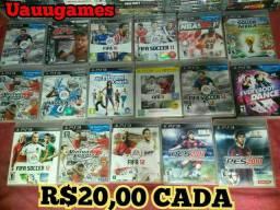 Jogos originais de ps3 semi novos ENTREGO/PARCELO no CARTÃO