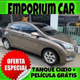 TANQUE CHEIO SO NA EMPORIUM CAR!!! HYUNDAI HB20 1.6 ANO 2016 COM MIL DE ENTRADA
