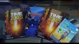 Título do anúncio: Livros Time Zones e Pb3 and the vegetables