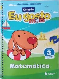 Eu Gosto Mais Matemática - Educação Infantil - Vol. 3 - Novo