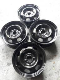 Rodas de ferro aro 16 polegadas,furação 5x114,oroch,duster,tucson,jac j5