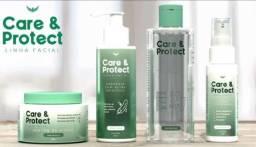 Título do anúncio: Linha Facial - Care & Protect - Marka da Paz