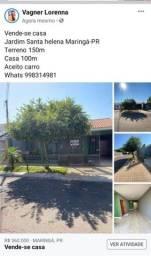 Vendo casa top Jd Santa Helena