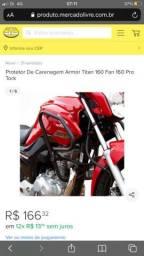 Ferro Protetor carenagem fan/titan 160