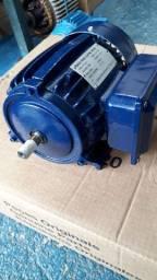 Motor elétrico Bifasico 0.5 cv rpm 3450.