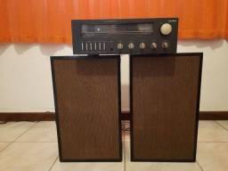 Receiver Gradiente S-96 + caixas de 1976