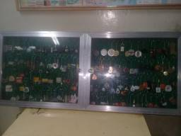 Coleção de chaveiros raros