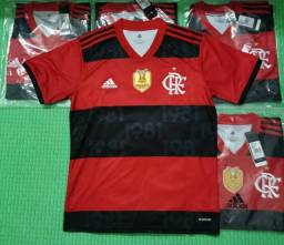 Camisa do Flamengo 2021 (Patch de Campeão)
