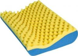 Travesseiro Cervical Anatômico + Capa Impermeável Lavável