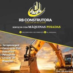 ALUGUEL DE RETROESCAVADEIRA E ESCAVADEIRAS (PC)