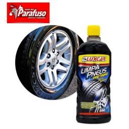 Limpa pneus pretinho luxcar