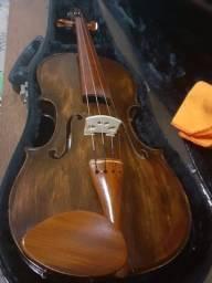 Violino Rolim Envelhecido Fosco Lindo e Novíssimo!