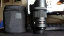 Lente Sigma 35mm 1.4 ART - para nikon comprar usado  Fortaleza