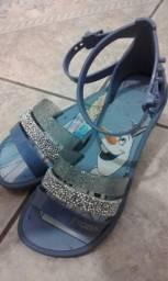 Sandália frozen 27
